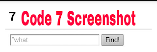 Code 7 Screensshot