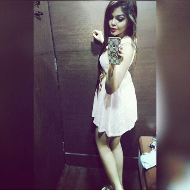 indian-instagram-girl-in-white-frock