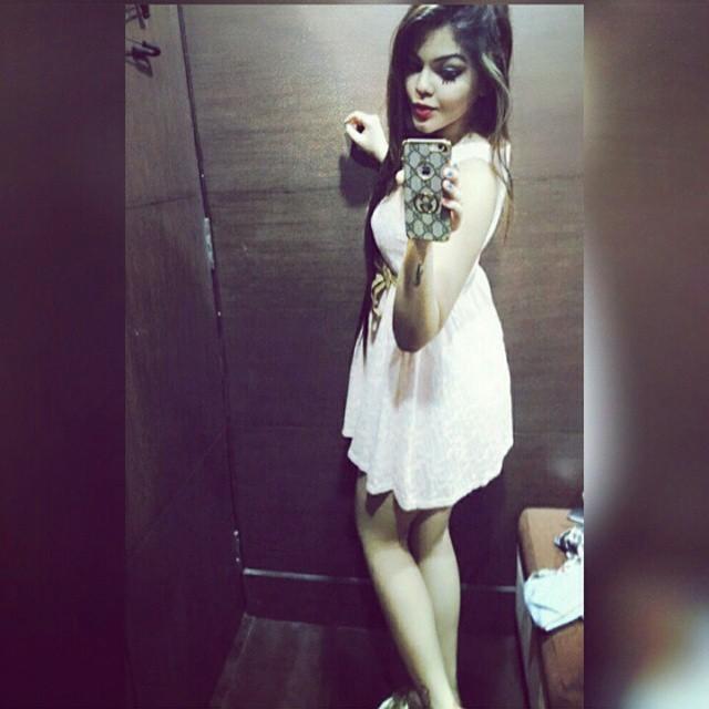 indian-instagram-girl-in-white-frock