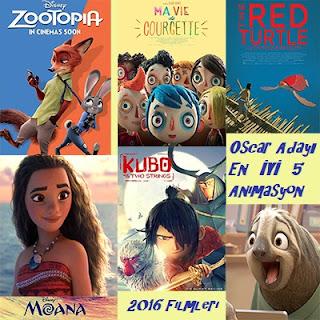 2016 Yapımı En İyi 5 Animasyon Filmi