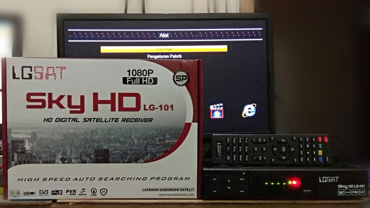 Harga dan Spesifikasi Receiver LGSat Sky HD Terbaru