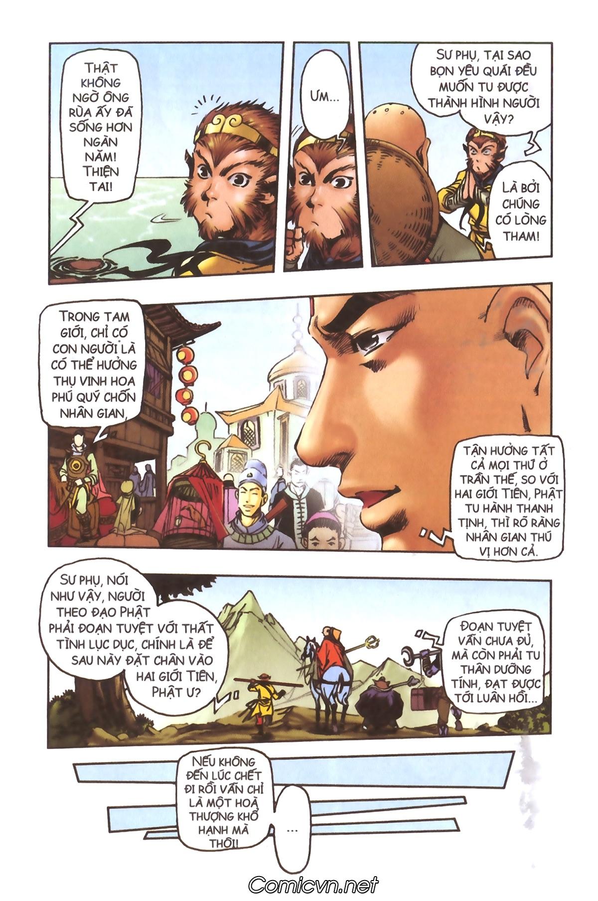 Tây Du Ký màu - Chapter 95 - Pic 33