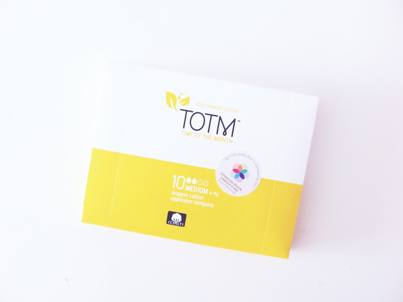 totm tampons cotton eco friendly