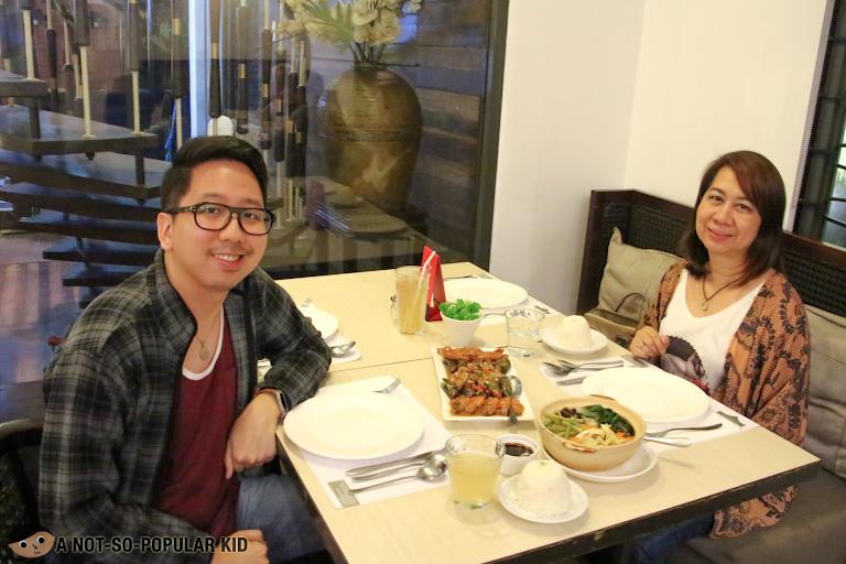 Renz Cheng in Limbaga 77 Restaurant