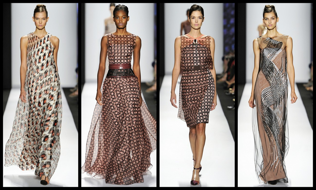 892e5fe6c3 Carolina Herrera presents Spring 2014 Collection at New York Fashion Week