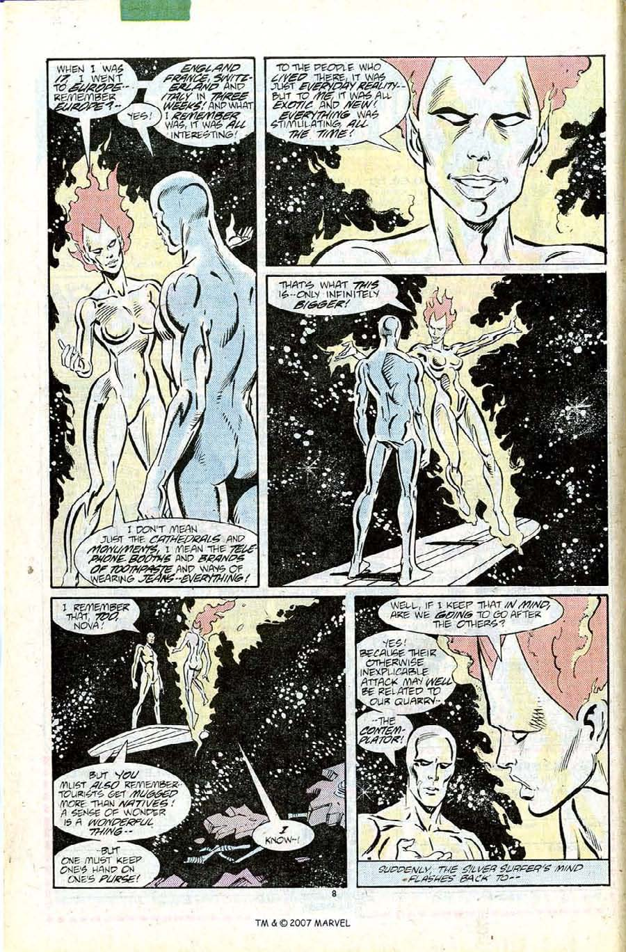 Read online Silver Surfer (1987) comic -  Issue #11 - 10