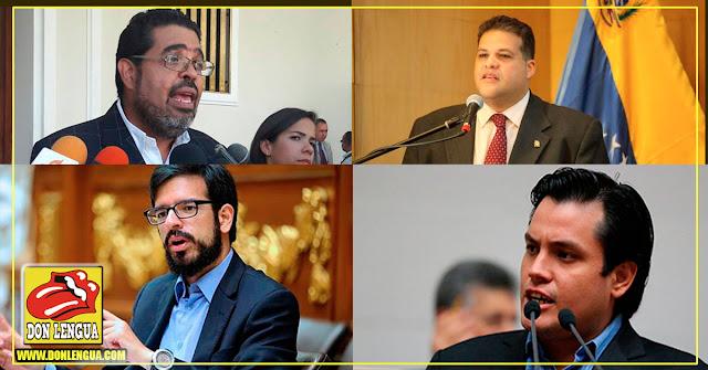 Estos son los 4 nuevos diputados que Maduro ordenó perseguir por el TSJ