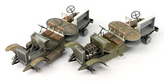 Twin-build review Pt III: Miniart's 35th scale Austin Armoured Car 3rd Series & 1918 Pattern kits