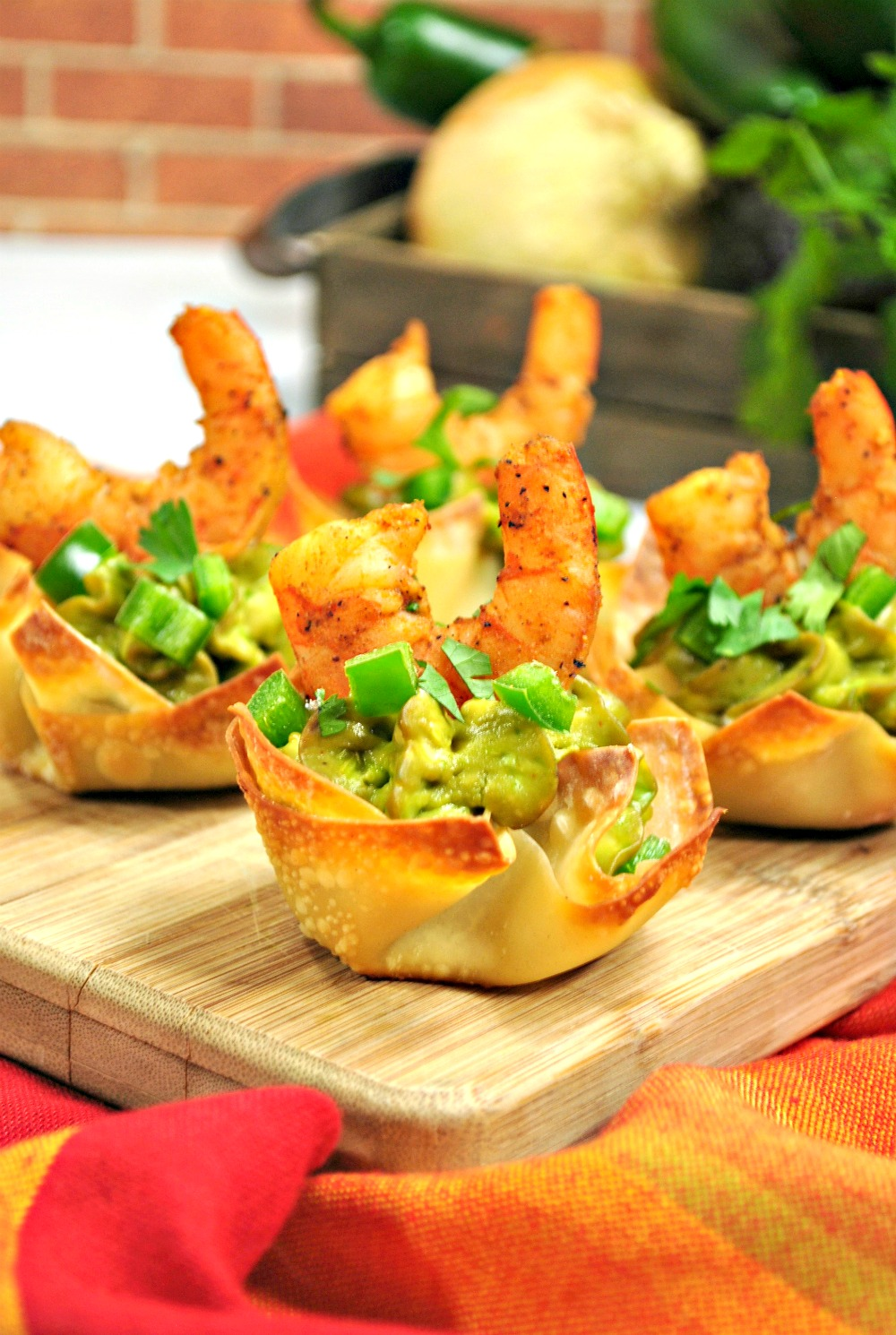 guacamole cajun shrimp recipe perfect event appetizer