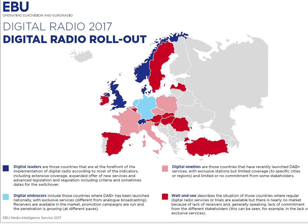 Mapa Cobertura Dab España.La Radio Del Siglo Xxi 6 Mentiras Arriesgadas Gorka