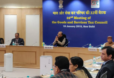GST Council's 32nd Meeting Held In New Delhi Under The Chairmanship Of The Union Minister Of Finance & Corporate Affairs, Arun Jaitley