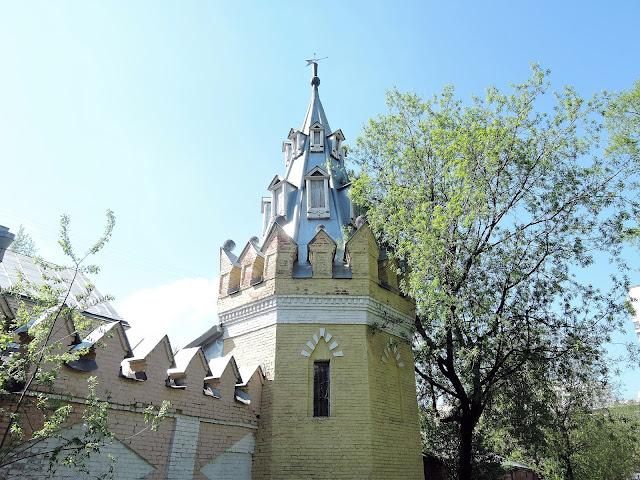 Башенка женского старообрядческого монастыря на Преображенке