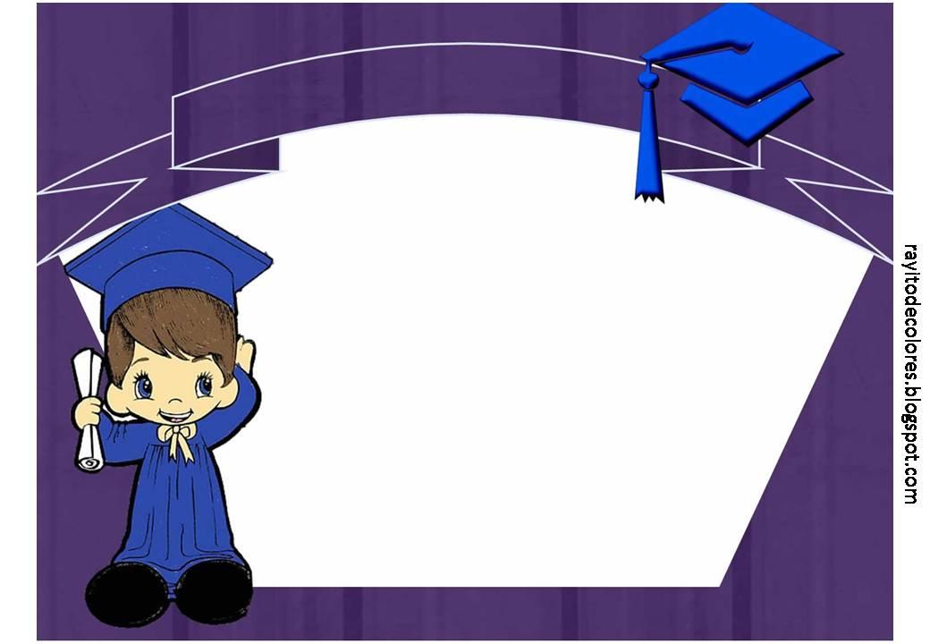 Diploma de Graduación para niños
