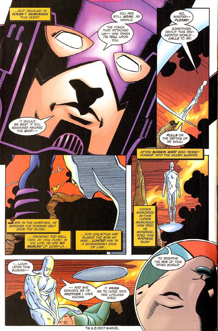 Read online Silver Surfer (1987) comic -  Issue #130 - 22