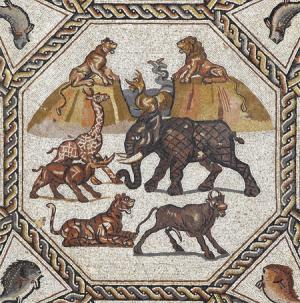Large mosaic unearthed in Israel on view at Legion of Honor