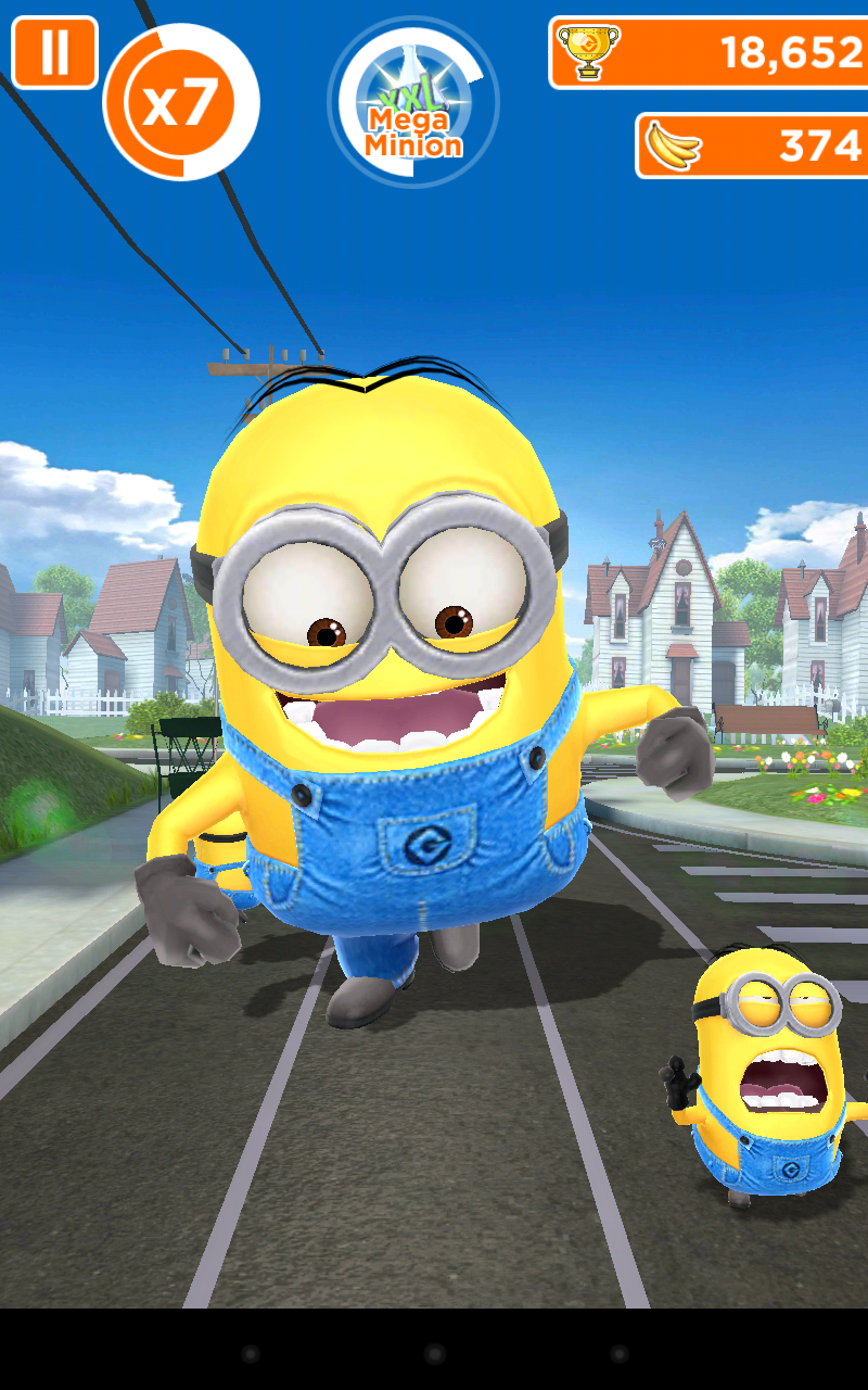 Despicable Me Minion Rush Addictive Running Game From
