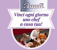 Logo Bauli '' Vinci ogni giorno uno Chef a casa tua''