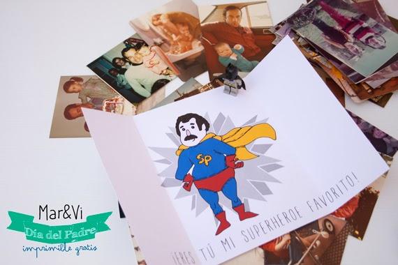 tarjeta del dia del padre imprimible