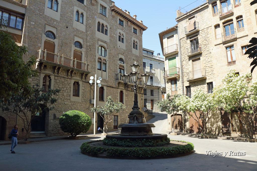Plaza episcopal de Solsona