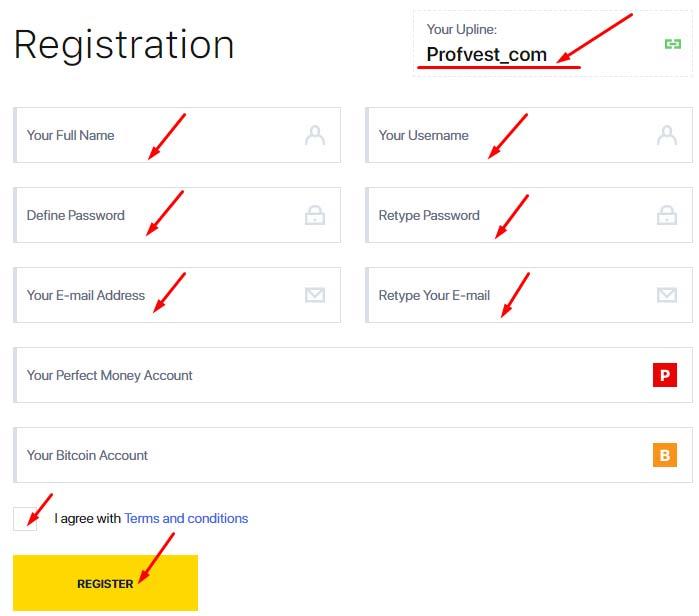 Регистрация в Fxraise Limited 2