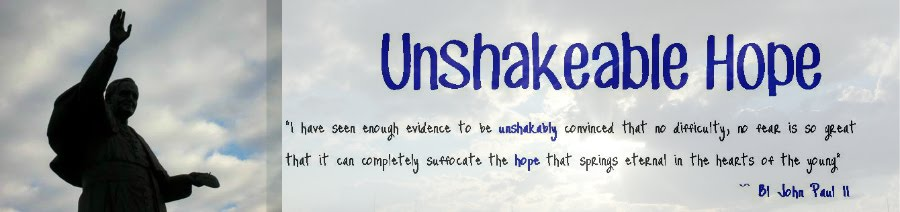 Unshakeable Hope