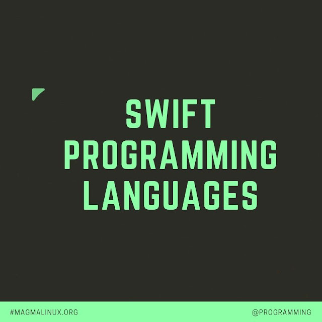 Swift programming languages