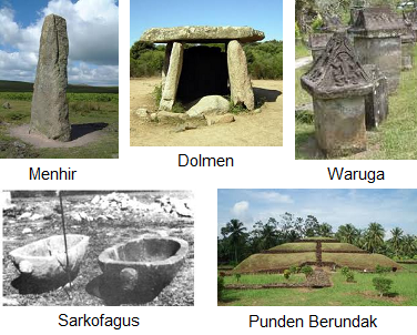 gambar peninggalan megalithikum