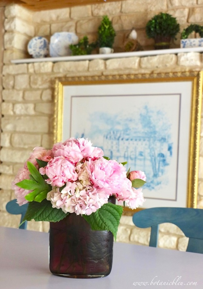 Under the spell of peonies French gardeners developed new varieties of French Country flowers