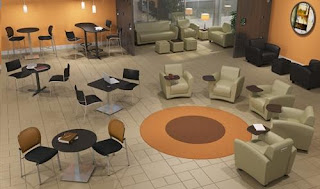 Large Lobby Furniture Configuration