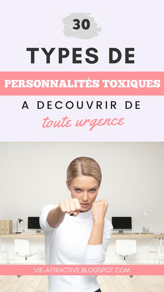30 types de personnalités toxiques à découvrir de toute urgence | développement personnel | psychologie