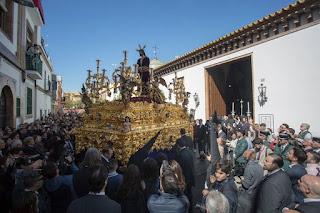 Santa Genoveva cambiará el itinerario de vuelta al Tiro de Línea el Lunes Santo de 2019