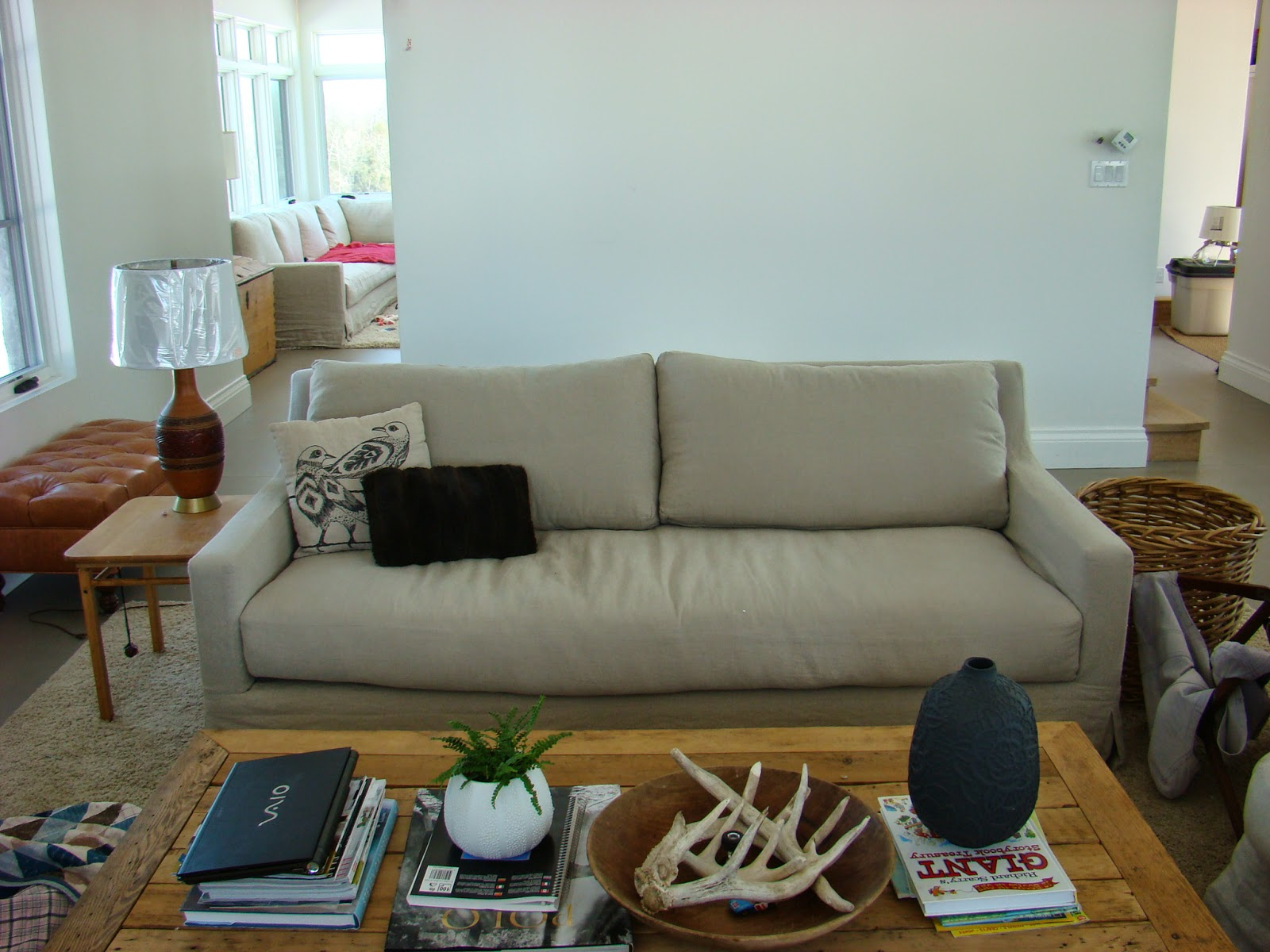 how to clean belgian linen sofa red colour scheme building walnut farm slipcovered furniture