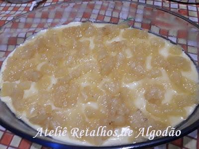 Deliciosa  e fácil torta gelada de abacaxi