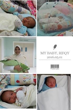 Telah Lahir Bayinya Evi Andriani