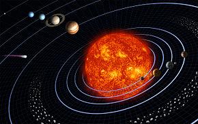 ricerca per la scuola primaria e media sul sole