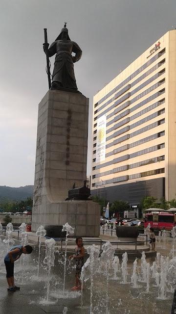 Estatua del Almirante Yi Sun-Shin