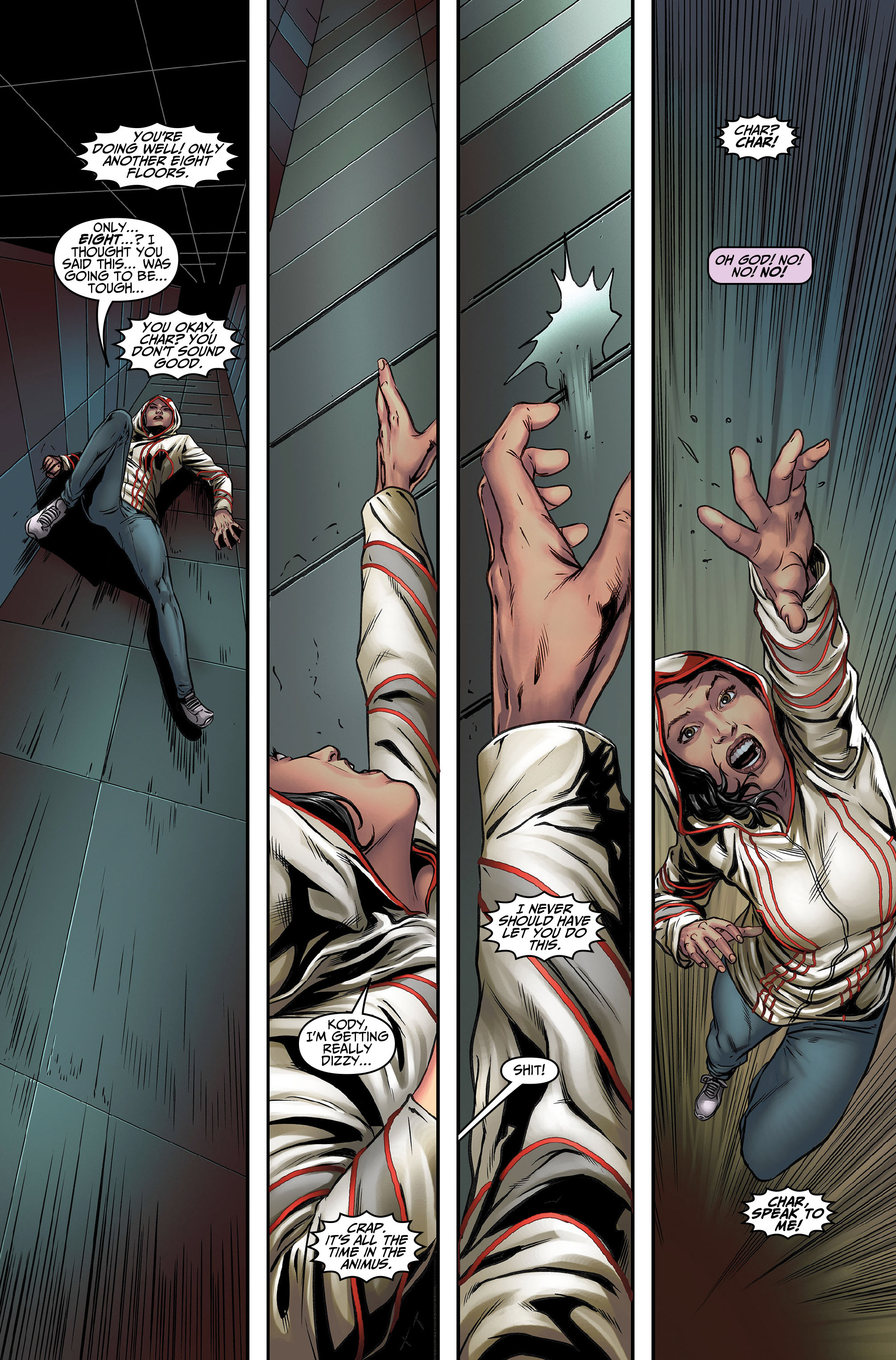 Read online Assassin's Creed (2015) comic -  Issue #5 - 9