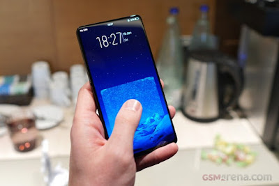 Vivo Apex Concept Phone : 98% screen-to-body ratio, Popup front facing camera