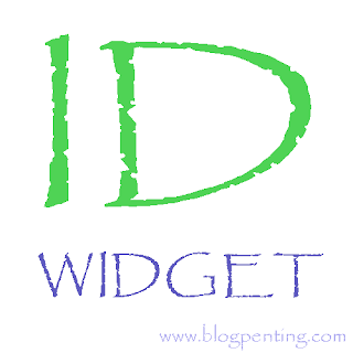 ID widget blog