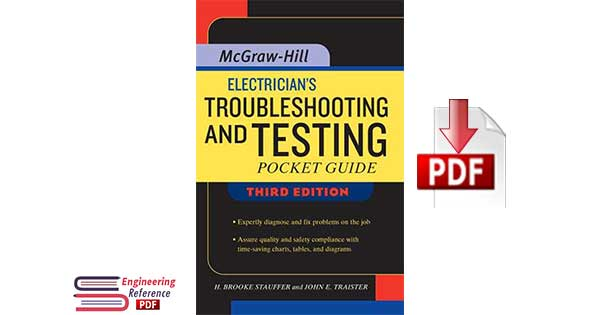 Electrician's Troubleshooting and Testing Pocket Guide Third Edition by H. Brooke Stauffer, John E. Traister