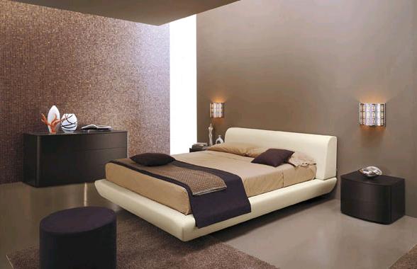 Consigli d 39 arredo il colore tortora nell 39 arredamento - Camera da letto marrone ...