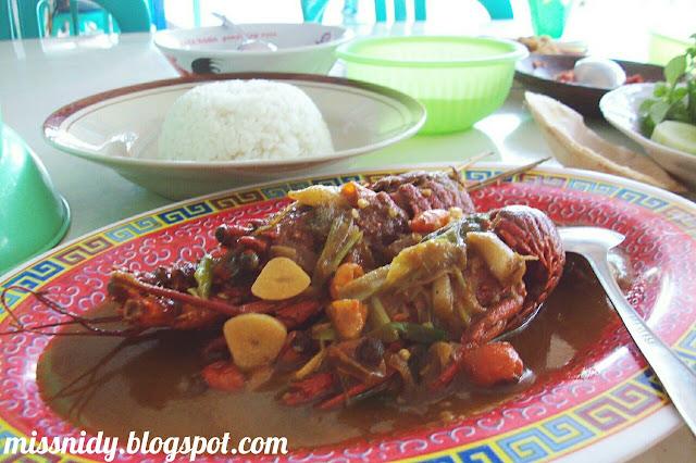 seafood pantai baron