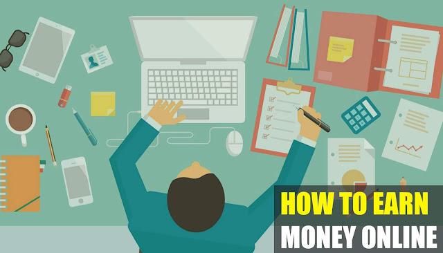 5 Easiest Steps to Earn Money Online
