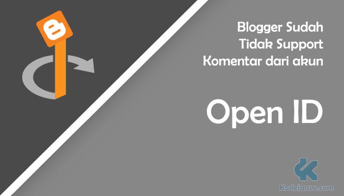 Tidak Support OpenID
