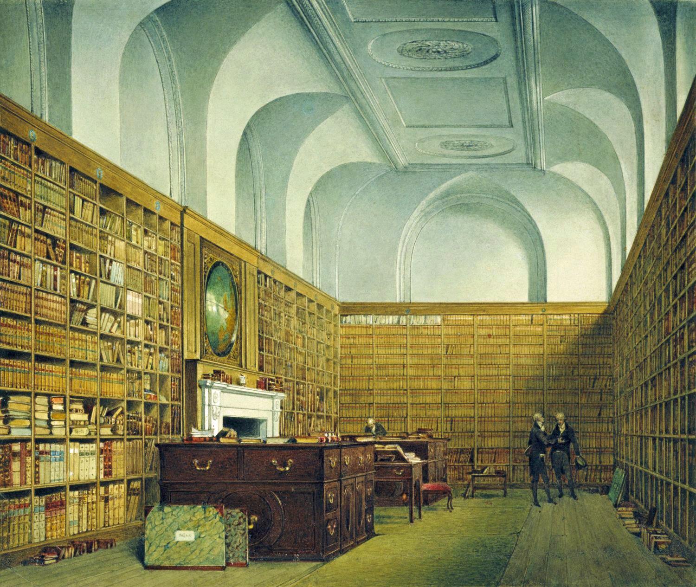 James Stephanoff Buckingham House East Library on Kensington Palace London