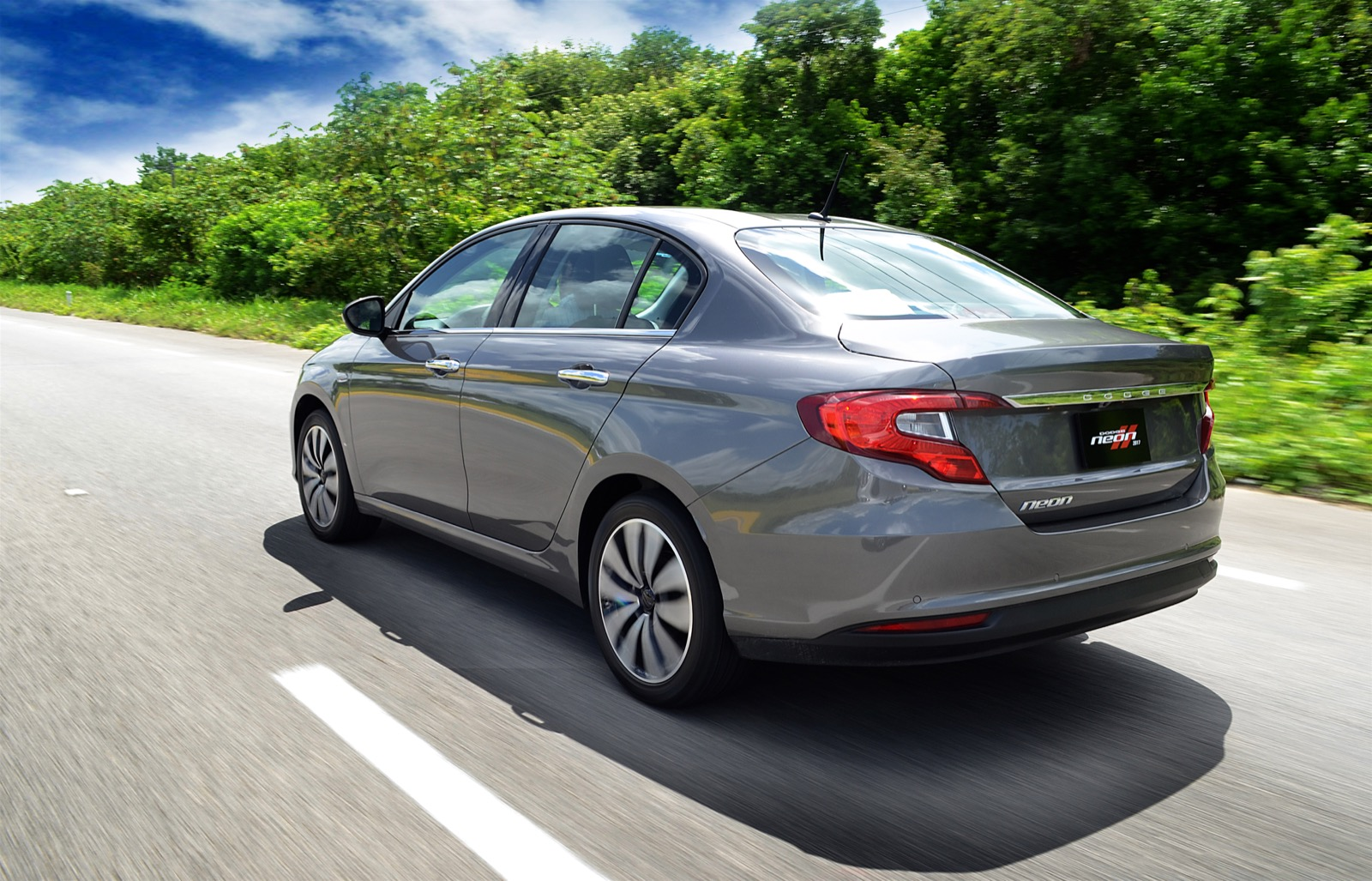 The 2017 Dodge Neon Is Basically A Rebadged Fiat Tipo Sedan Which Sold In Limited Markets Like Middle East And Mexico Only Difference With Its