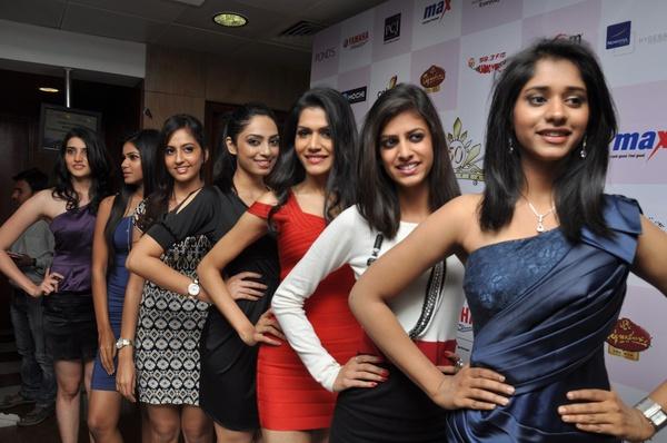 Sexy girls femina miss india auditions