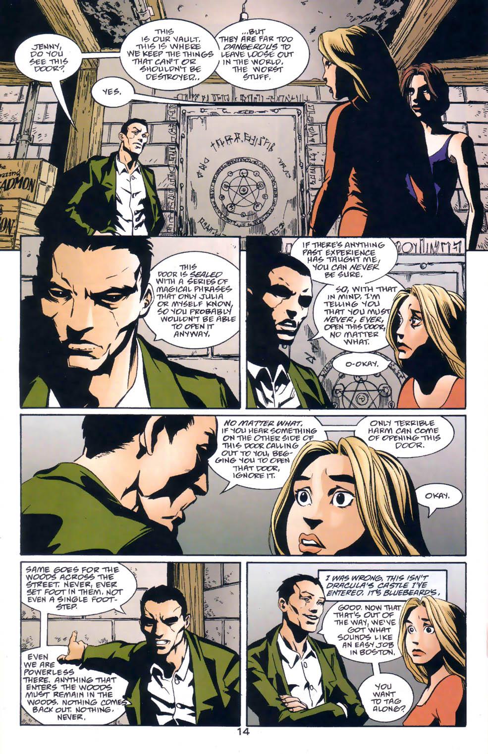Read online Midnight, Mass comic -  Issue #1 - 15