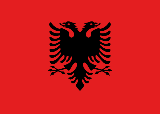Bendera negara Albania
