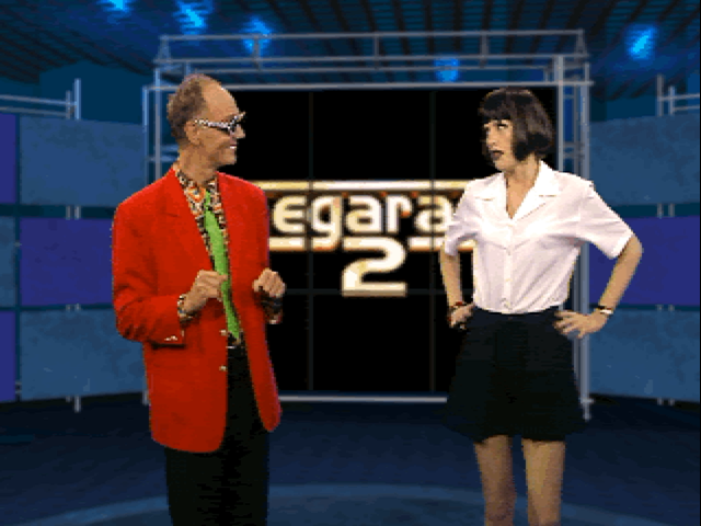 Screenshot from Megarace 2